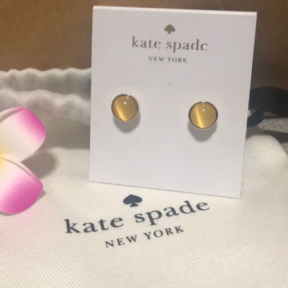 Kate Spade Forever Gems round stud
